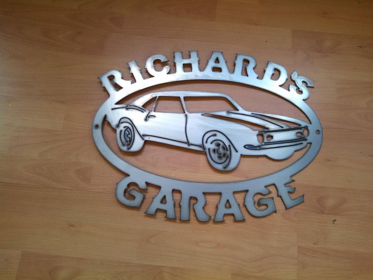 Custom Car Garage Signs : Best images about antry metal works ideas on pinterest