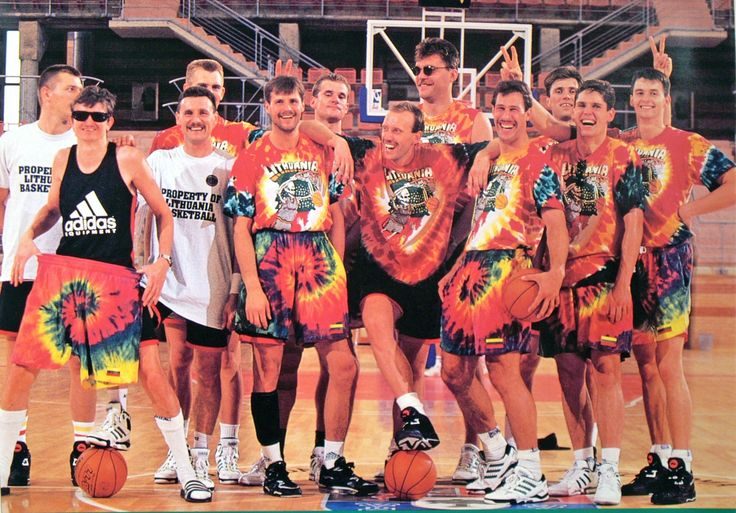 Lithuania's Dream Team at 1992 Barcelona Olympic Games [2381  1661]