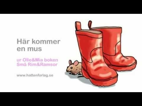 8. Här kommer en mus - ur Stora Rim&Ramsor - YouTube