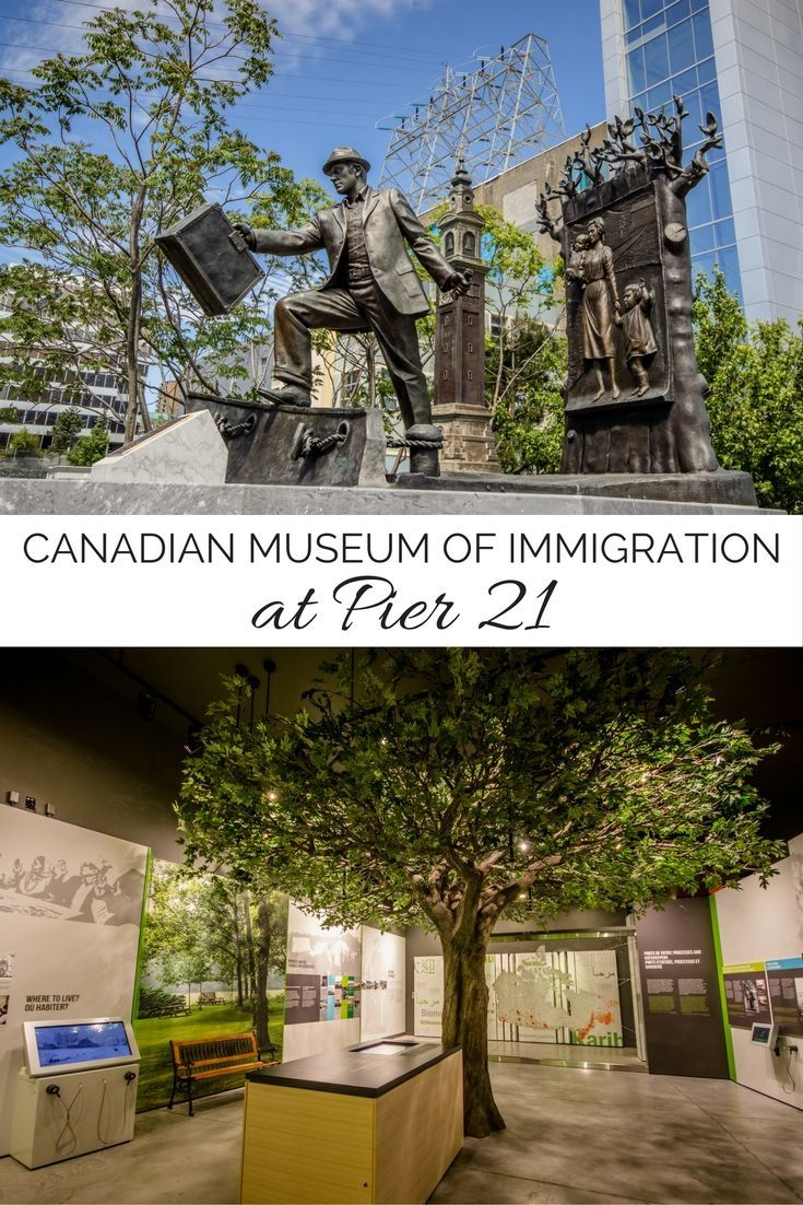 The Canadian Museum of Immigration at Pier 21 is a must-see in Halifax, Nova Scotia!