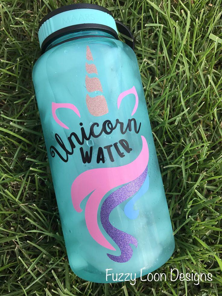 Unicorn Water Bottle Unicorn Water Bottle Cute Water