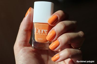 Polished Polyglot: Kure Bazaar: fashion & healthy nail polish