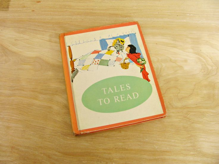 Children's Book Tales To Read Fairy Tales Fables Rebus Book Elementary Reader Primer Primary Reading Home School Reading Text Book by HipCatRetroVintage on Etsy