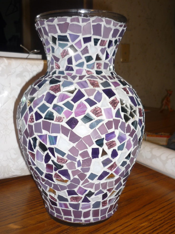39 Best Images About Mosaic Vases On Pinterest Green