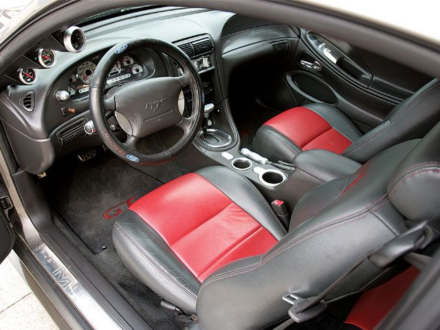 2002 Ford Mustang Gt Interior