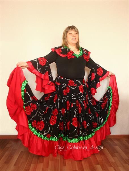 Цыганская юбка костюм цыганки