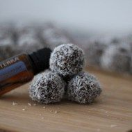 After Minty Bliss Balls by NOGLUTENS - gluten, dairy, corn free, raw, vegan