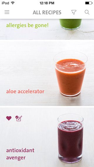 Blender Girl Smoothies app for iOS: Inspiration, recipes, and health tips. And gorgeous photography!