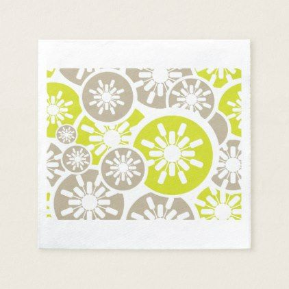 Seamless Retro Paper Napkins - retro gifts style cyo diy special idea