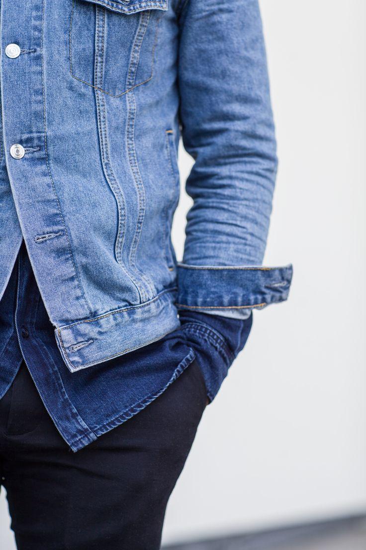 Denim layers on point! Shop Dakota Jacket online at www.wearecph.com.   #wearecph #menswear #mensstyle #streetwear #streetstyle #ootd