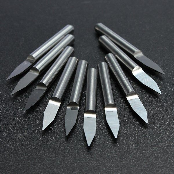 $4.59 (Buy here: https://alitems.com/g/1e8d114494ebda23ff8b16525dc3e8/?i=5&ulp=https%3A%2F%2Fwww.aliexpress.com%2Fitem%2F10pcs-Carbide-PCB-Board-0-3mm-30-Degree-Engraving-Bits-CNC-Router-Tool-V-shape%2F32691098143.html ) 10pcs Carbide PCB Board 0.3mm 30 Degree Engraving Bits CNC Router Tool V-shape for just $4.59