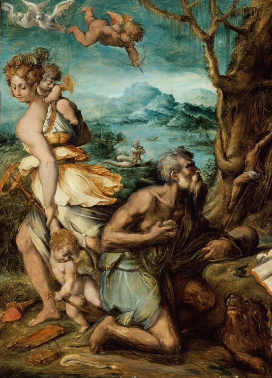 Giorgio Vasari The Temptation of St. Jerome