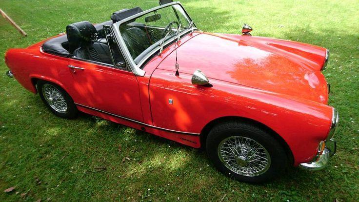 Biete hier den Wagen meines Vaters an (seit März '94 in seinem Besitz). Ist ein wunderschönes,...,MG Midget MK III, Oldtimer, Cabrio, Roadster in Niedersachsen - Norden
