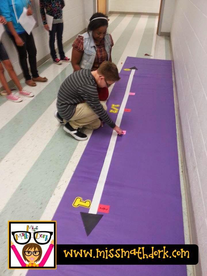 Loved that Lesson: Fractional reasoning on a number line!!! | MissMathDork