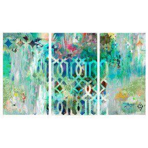Set of 3 Tribal Canvas Prints