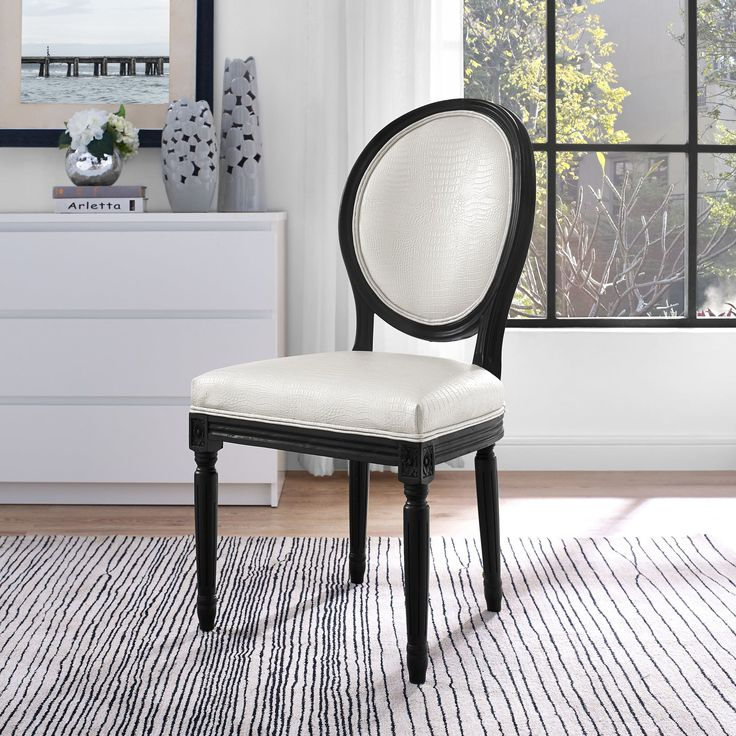 Peter Croc Dining Side Chair Set Of 2
