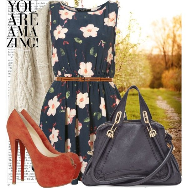 cute summery look. :DShoes, Summer Styles, Fashion, Closets, Clothing, Cute Dresses, Cute Outfits, Spring Outfit, Wear