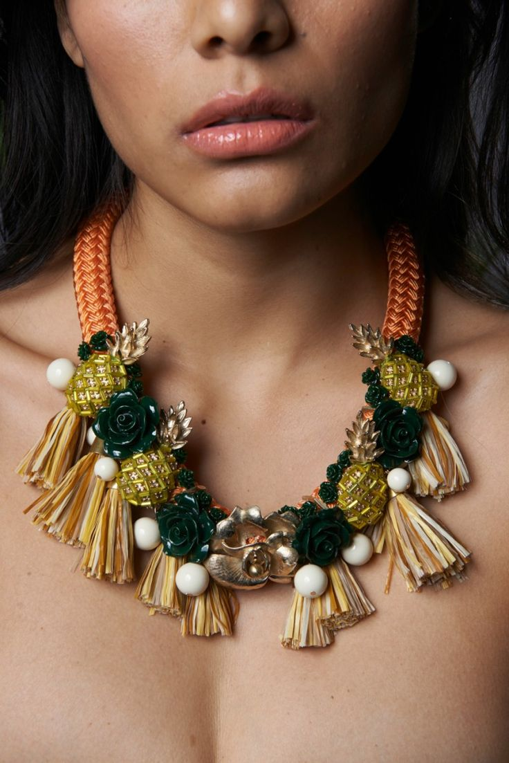 Pineapple Princess Necklace by HOLST+LEE