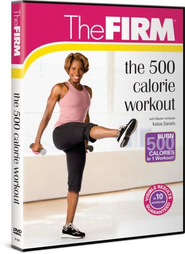 http://pins.getfit2gethealthy.com/pinnable-post/firm-500-calorie-workout/ BURN 500 CALORIES IN 1 WORKOUT!VISIBLE RESULTS IN 10 WORKOUTS GUARANTEEDGet ready for a high energy, high powered workout! Watch the extra pounds disappear with this total body cardio and sculpting workout that will burn 500 calories or more in just one workout session! The FIRM Master Instructor Kelsie Daniels leads you through ultra-effective intervals of ...