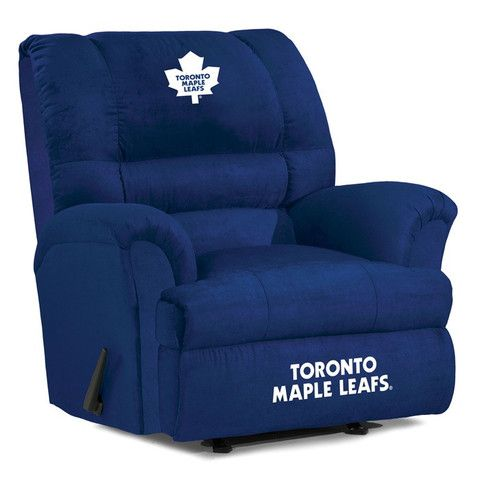 Use this Exclusive coupon code: PINFIVE to receive an additional 5% off the Toronto Maple Leafs Big Daddy Recliner at SportsFansPlus.com
