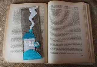 keçeden kitap ayracı