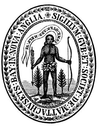 The original Massachusetts Bay Colony seal