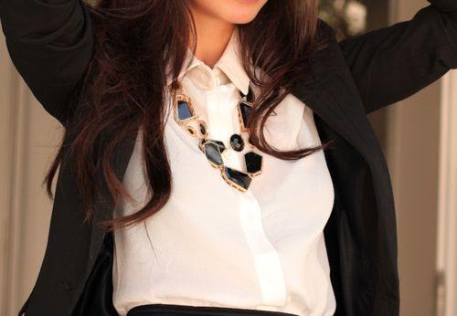 #clothes #kemejaputih #fashion #trend #wanita #ladies