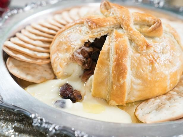 Get Cranberry Pecan Baked Brie Recipe from Food Network