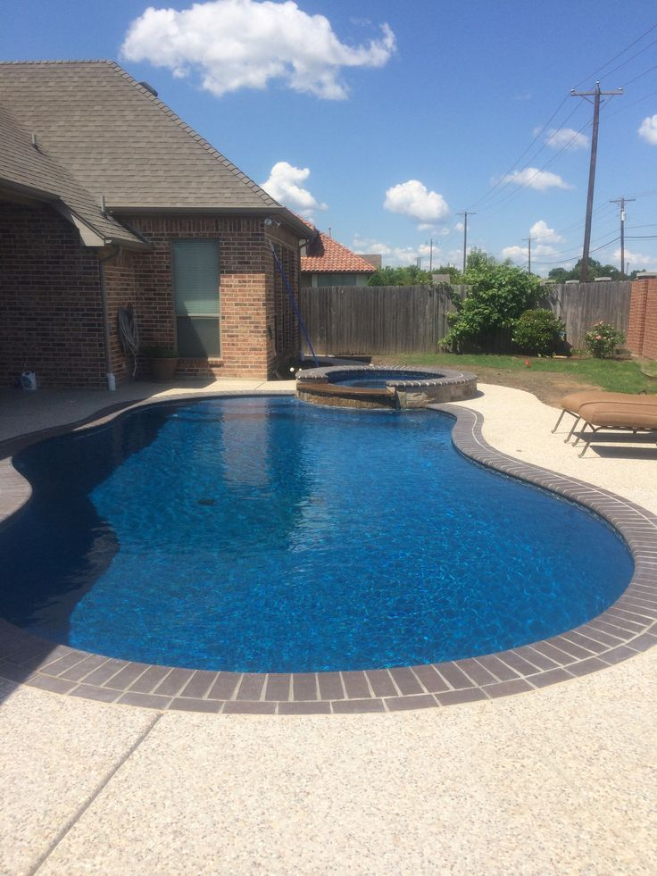 Merlin Industries shared this swimming pool project with us Built