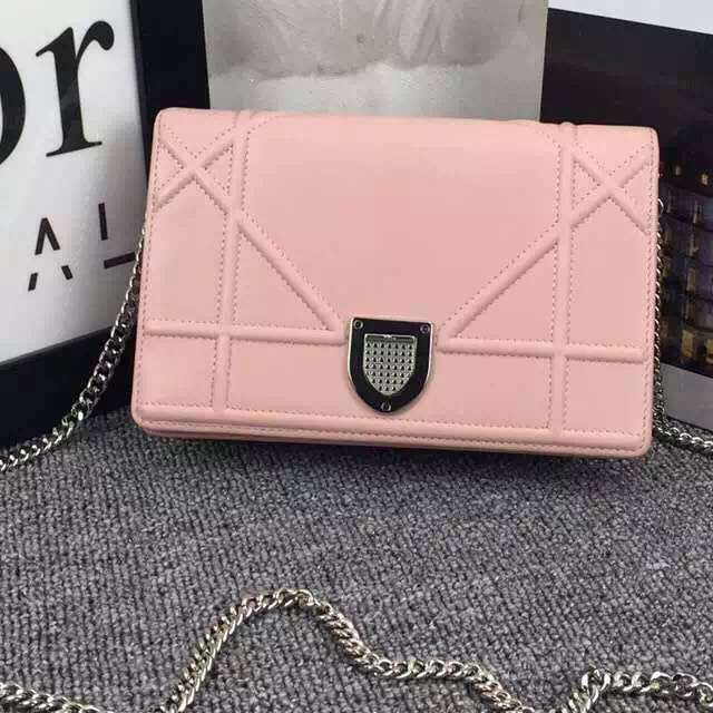 47ac6f990a Dior Diorama Wallet On Chain 100% Authentic 80% Off | Dior Bag Sale ...