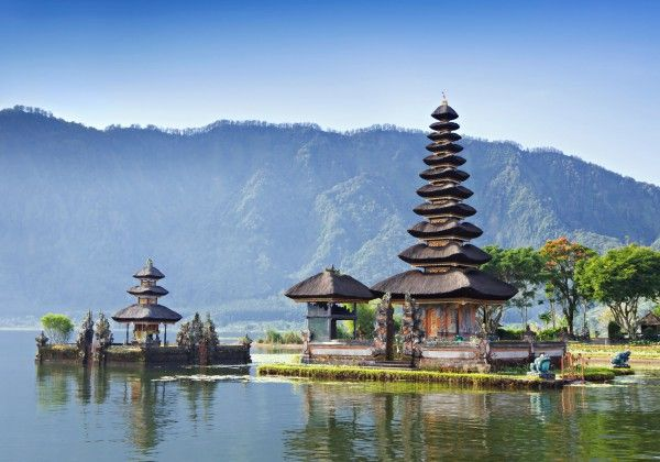 Picture of Beautiful Temple in Bali for Wallpaper
