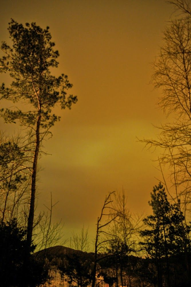 Korin Susanne: cloudy with a chance of northern lights