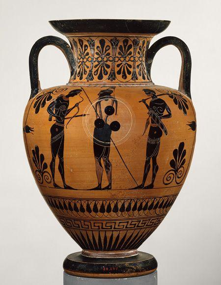 Etruscan: Neck-amphora (jar) (98.8.13)   Heilbrunn Timeline of Art History   The Metropolitan Museum of ...