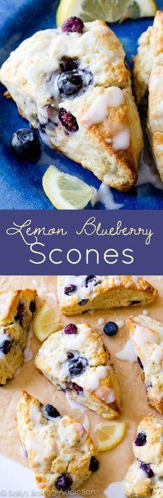 I always use this basic scone recipe-- try adding sweet lemon glaze and blueberries!