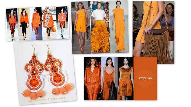 #TRENDS#SOUTASZ#SOUTACHE#SPRINGKOLOR WIOSNA-LATO !!!!Intensywny, blady, w odcieniu cegły, a dla odważnych – neonowy. Kolor pomarańczowy króluje na wybiegach sezonu już od kilku lat i trudno się dziwić, bo wygląda świetnie w parze z barwami, które w tym sezonie nosi się najchętniej, czyli czernią, szarością i granatem.