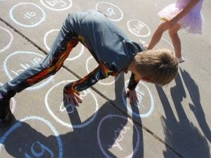 Sight Word Twister- Perfect activity for the fantastic weather we've been having! :)