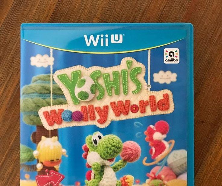 Yoshi's Woolly World (Nintendo Wii U 2015) - Perfect Condition