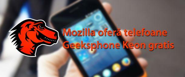 Mozilla oferă gratis telefoane cu Firefox OS | HazzardWeb