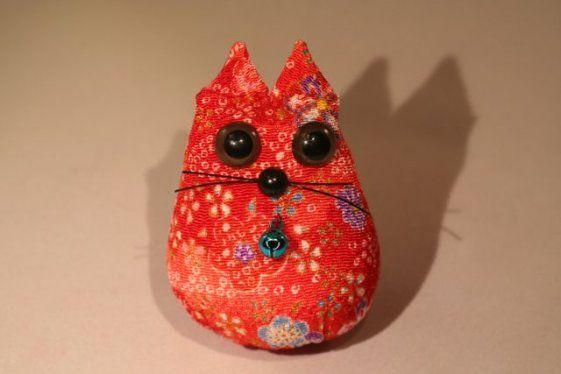 Gattino in tessuto originale Giapponese. 7,0€ #cats #decorazioni #home #gatti