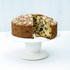 Traditional Dundee Cake.