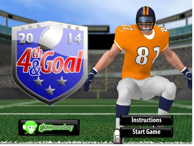 4th and goal 2014 was released for NFL lovers as a strategy game.
