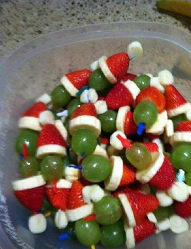 Nisser af frugt