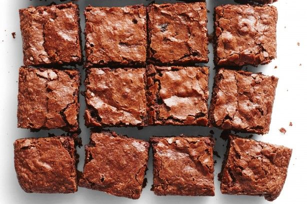 Brownies get better with age, so always try to make them a day ahead. Let them cool completely in the pan – they are very soft when hot and can break easily.