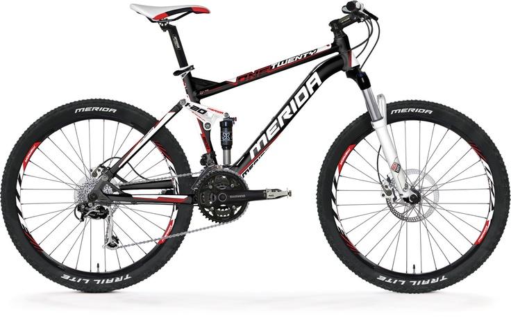 MTB Full Suspension - One-Twenty series - ONE-TWENTY 800-D - Merida Bikes South Africa