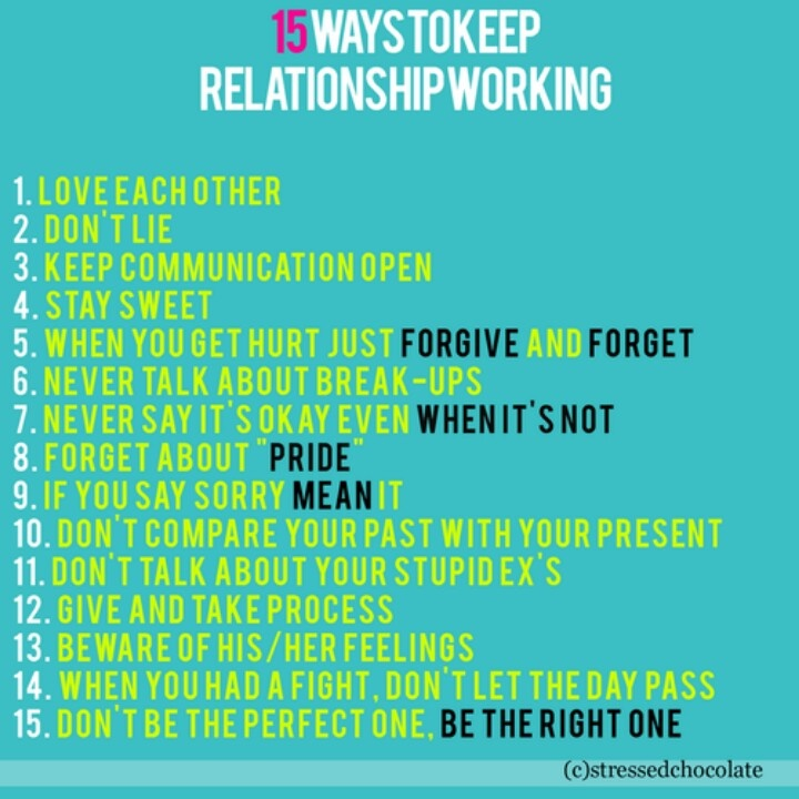 How Do You Keep A Relationship Strong