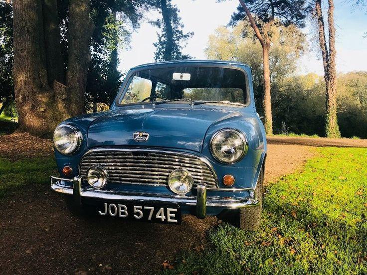 Ad Austin mini. Mk1 1967 italian job plate! Original
