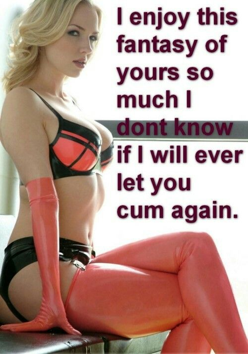 Never cum chastity femdom tale just