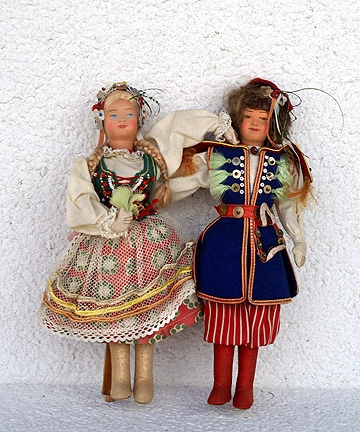 dolls from poland