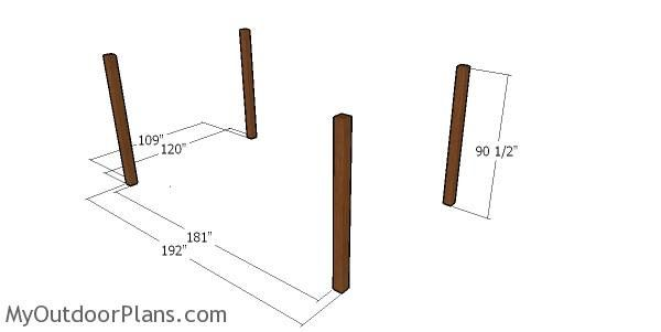 Simple 10x16 Rectangular Gazebo Plans Myoutdoorplans Free Woodworking Plans And Projects Diy Shed Wooden Rectangular Gazebo Gazebo Plans Wooden Playhouse