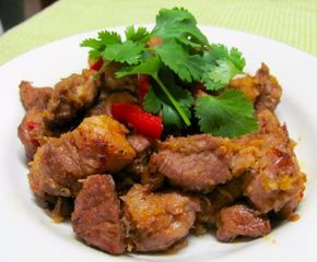 Griots (Haitian Fried Spice Pork)